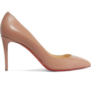 Christian Louboutin Nude Pigalle Follies Pumps